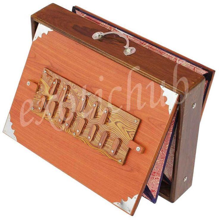 "SHRUTI BOX~TEAK WOOD~BIG SIZE (16"" X 12"" X 3"")~440 Hz~YOGA~MANTRA~BHAJAN~KIRTAN~ #KaaynaMusicals"