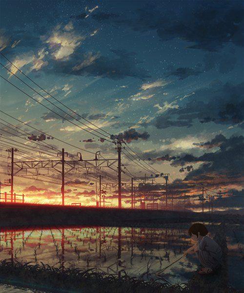 Anime Picture 1200x1440 With Original Natsu Pixiv 431705