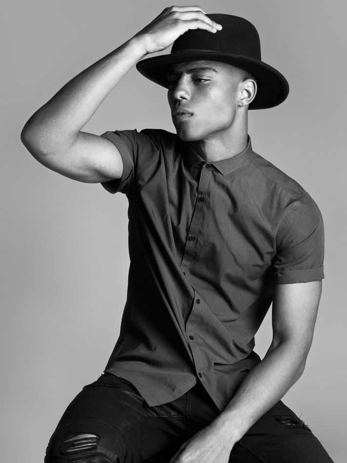keith powers  represented by Wilhelmina International Inc.