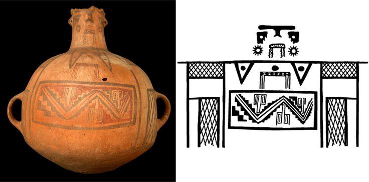 Cántaro antropomorfo - Cultura Diaguita- Inka