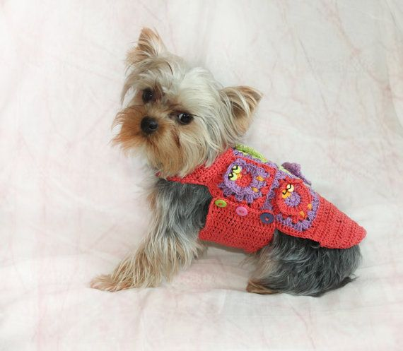 Hey, I found this really awesome Etsy listing at https://www.etsy.com/listing/208031319/crochet-dog-sweater-crochet-pet-cotton