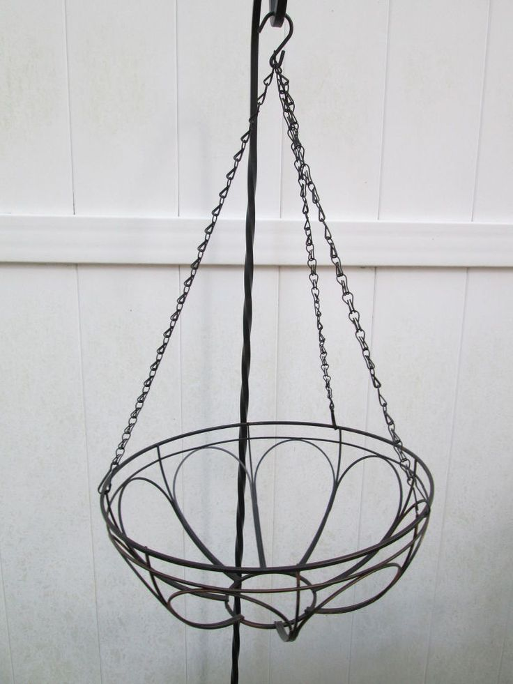 Hanging Planter Turned Craft Room Chandelier