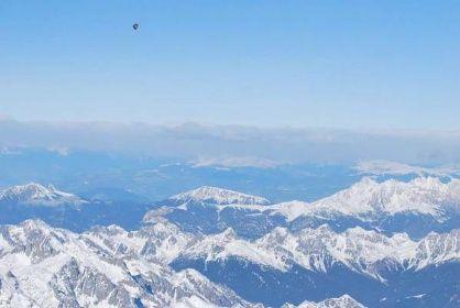 Přeletěli jsme Alpy v balónu   Let balonem, balóny