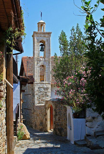 The White Belfry in Kakopetria, Cyprus