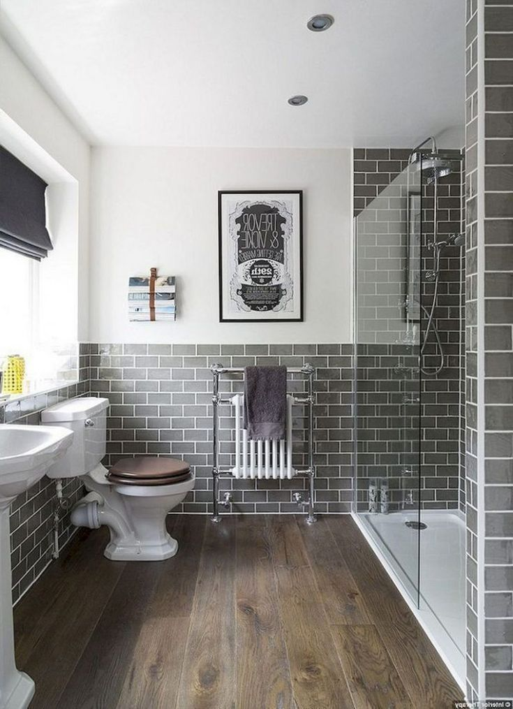 47 Awesome Farmhouse Bathroom Tile Floor Decor Ideas And Remodel To Inspire Your Bathroom Best Bathroom Tiles Bathroom Tile Designs Farmhouse Shower