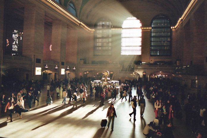Grand Central Station. One of my favorite spots in NY!!! I just wanted to sit there all day