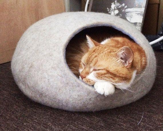 Bed van het huisdier / kat bed / Cat grot / pup bed / huis /