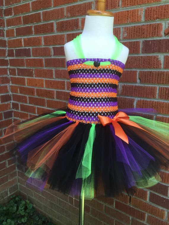 Toddler Witch Tutu with Hat - Toddler Witch Costume - Toddler Witch Halloween Costume - Witch Tutu Dress - Witch Tutu - Witch Costume