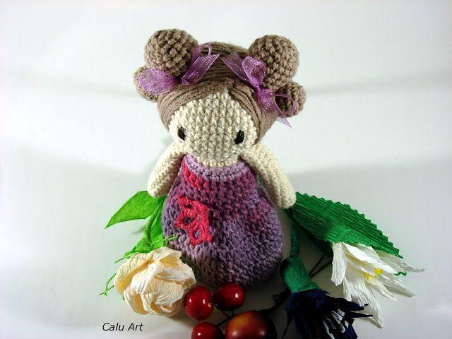 Calu Art: Mała laleczka