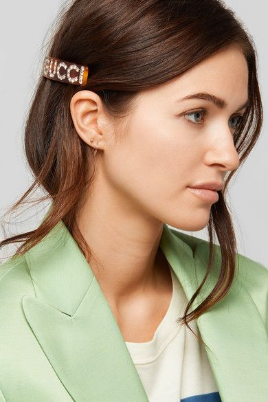 27fff39e2 Gucci - Crystal-embellished resin hairclip in 2019   sept 18   Hair ...