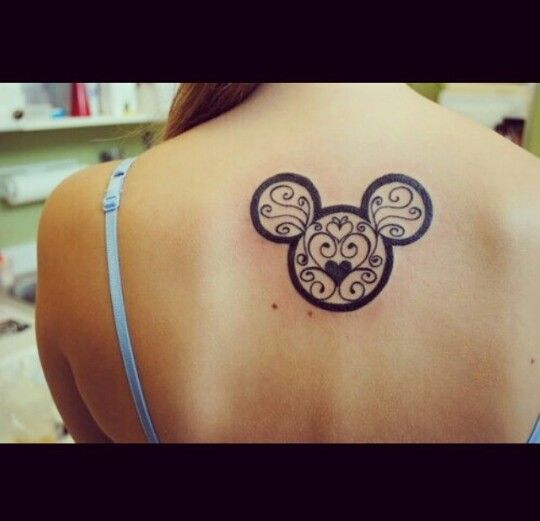 A cute and subtle Disney tattoo