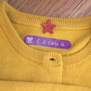 Personalizza le tue etichette termoadesive per vestiti scegliendo forme e colori adatti ai bambini. Con Petit-Fernand identifichi tutto e non perdi nulla!