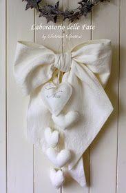 Fiocco Nascita B Ho avuto molte richieste per il fiocco nascita bianco con cuori personalizzato...però non ero mai riuscita a trovare...