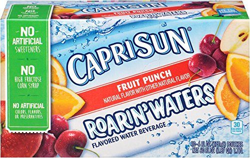 Capri Sun Roarin' Waters Fruit Punch, 60 oz -- Learn more by visiting the image link.