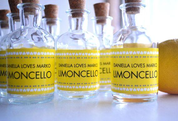 Personalized Favor Bottles With Cork   Unique Wedding Favor Ideas  favorcouture.theaspenshops.com