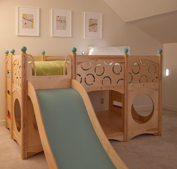 Childrens Beds With Slides best 25+ cabin bed with slide ideas on pinterest | contemporary