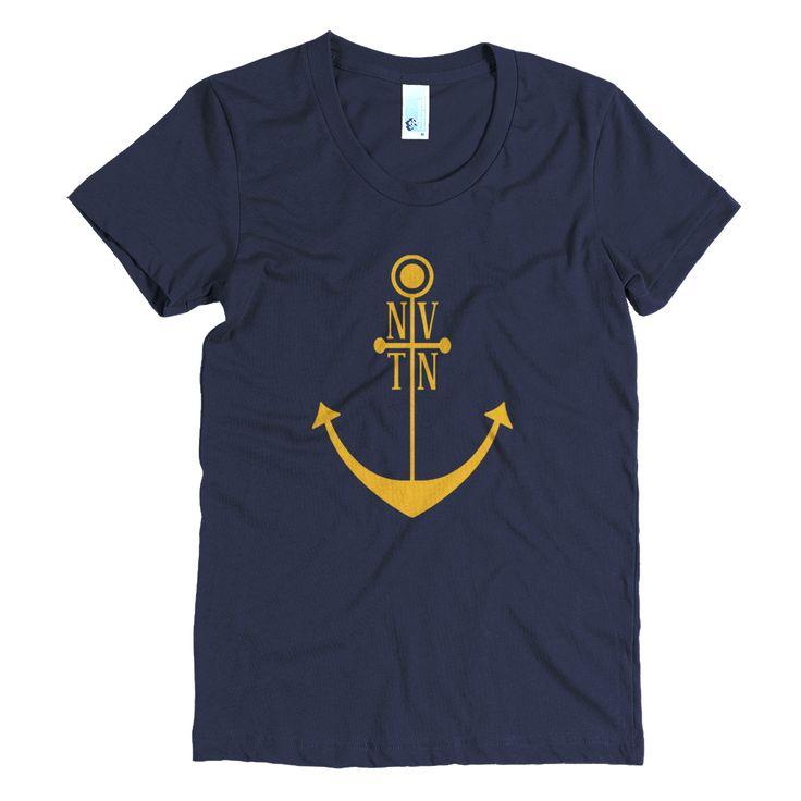 Nah-Ville Anchor Gold Women's t-shirt