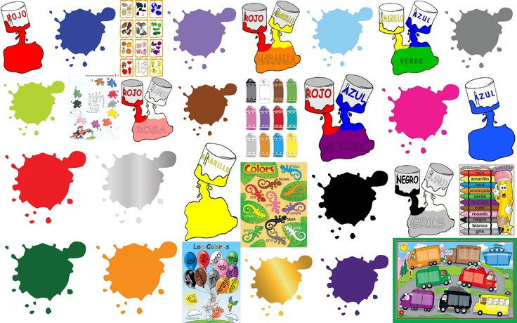Aprende los colores con estas 65 fichas