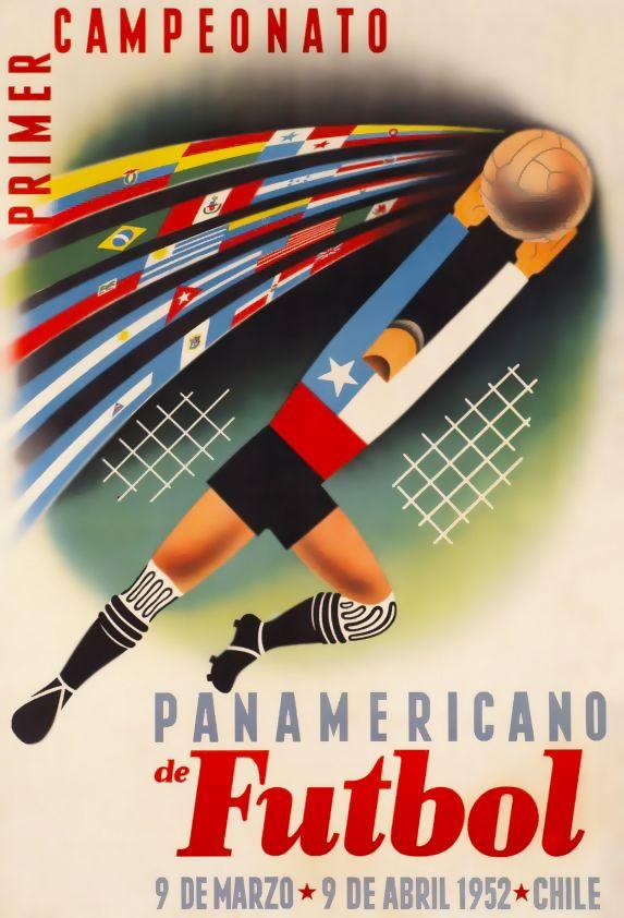 Primer Campeonato Panamericano de Futbol, Chile 1952