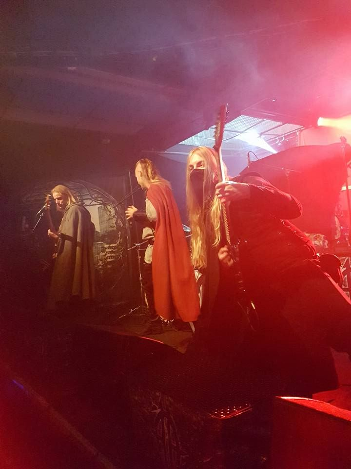 Twilight Force ⚫ Photo by Sebastian Jonsson ⚫ Borlänge 2016 ⚫ #TwilightForce #music #metal #concert #gig #musician #Chrileon #Lynd #Born #singer #vocalist #frontman #guitarist #guitar #bass #bassist #ninja #mask #armour #armor #bracers #tattoo #beard #playing #coat #cape #earrings #leather #blond #longhair #show #photo #fantasy #magic #cosplay #larp #man #onstage #live #show #celebrity #band #artist #performing #Sweden #Swedish #Liljan #Borlänge