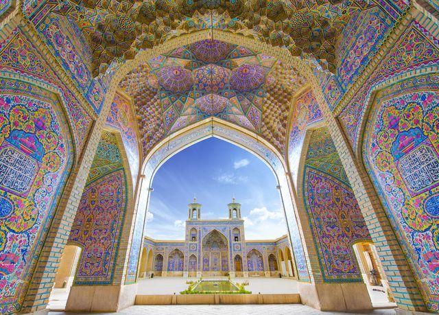 ピンク・モスク(マスジェデ・ナスィーロル・モスク)(イラン)