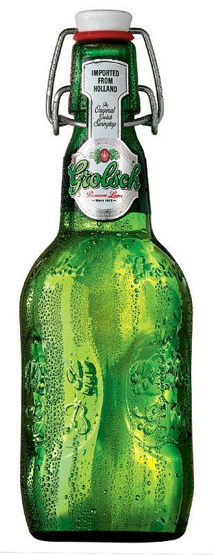 These Grolsch beer bottles are excellent for homemade salad dressings or left over liquid anything. They seal tight and look great.