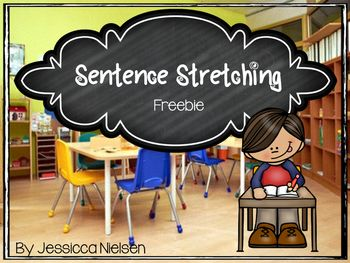 Sentence Stretching Freebie