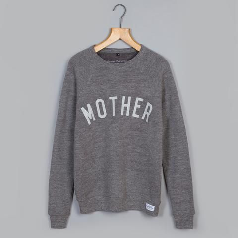 Grey MOTHER Supersoft Sweatshirt