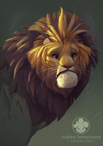 Art of Noukah Liked · March 31  Another sketch/ study thingie. Maybe it's the Cowardly Lion?  Been inspired to paint something with lions recently. Gotta come up with some good ideas first...  Photoshop CS5 & Wacom Cintiq 12WX  Hope you like!