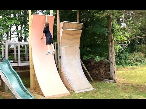 Kids Warped Wall, 11 Foot Edition - YouTube