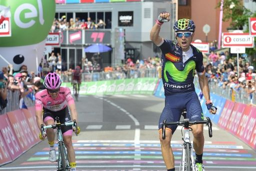 Alejandro Valverde (25-4-1980) || Amateur Team(s): 1999 Banesto (Amateur) || Professional Team(S): 2000-2003 Kelme - Costa Blanca, 2004 Comunidad Valenciana Kelme, 2006 Caisse d'Epargne - Illes Balears, 2007-2010 Caisse d'Epargne, 2013 - (currently) Movistar Team.|| Photo: Pier Maulini / Zuma Press http://piermaulini.com/