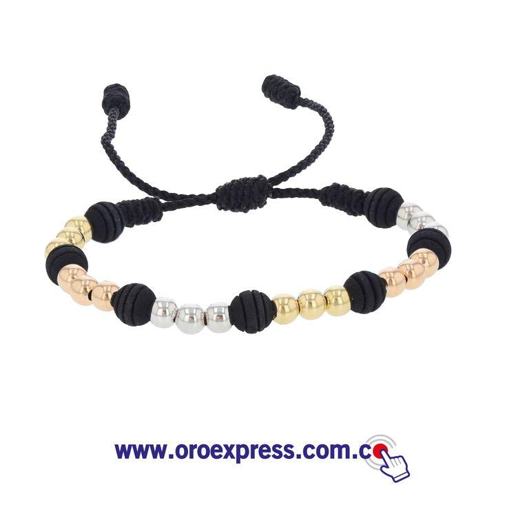 Pulseras diseñadas a tu estilo. Neopreno y oro 18k. ¡Te las diseñamos como quieras! www.oroexpress.com.co Whats App 317 543 5909