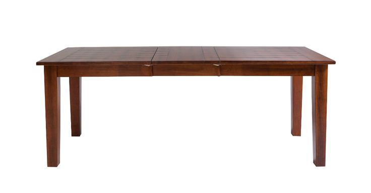OTTO: Esstisch, Home affaire  Esstisch im Landhaus-Stil Aus massivem Hevea-Holz Tisch ausziehbar auf Breite 195 cm Außenmaße (B/T/H): 150/80/76 cm  € 399,99