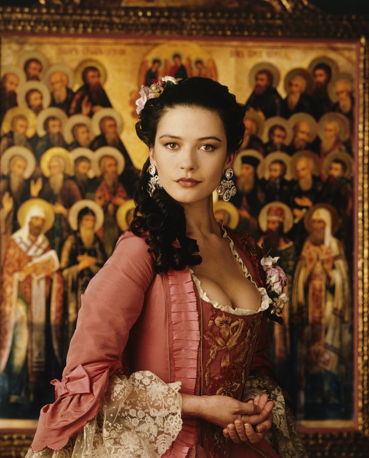Catherine Zeta Jones in Catherine the Great