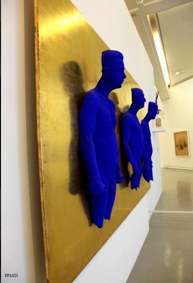 Yves Klein  #repinned by #mulabegovich