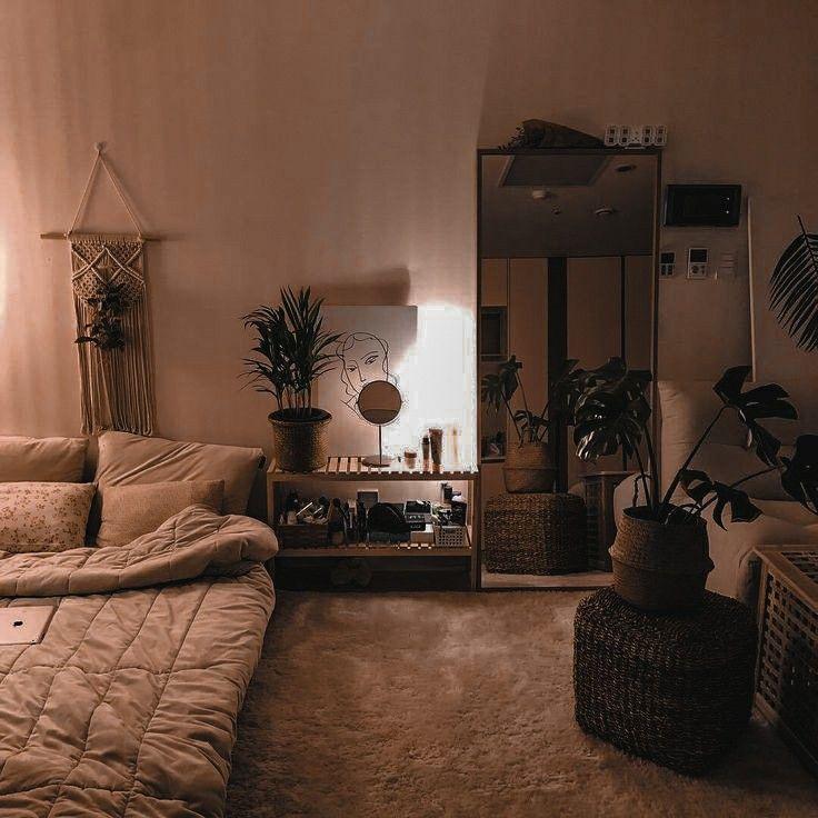 Home Design Ideas Cozy: #pallette #aesthetic #room #beige #brown #minimalist