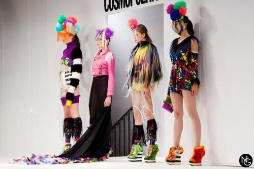 Manicurism first fashion show Shoreditch Fashion Show: Urban Tribe | Idol magazine.