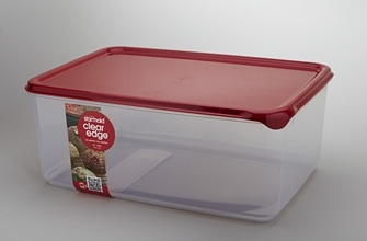 Clear Edge Bulk 10L - ultimate clarity  and compact storage container