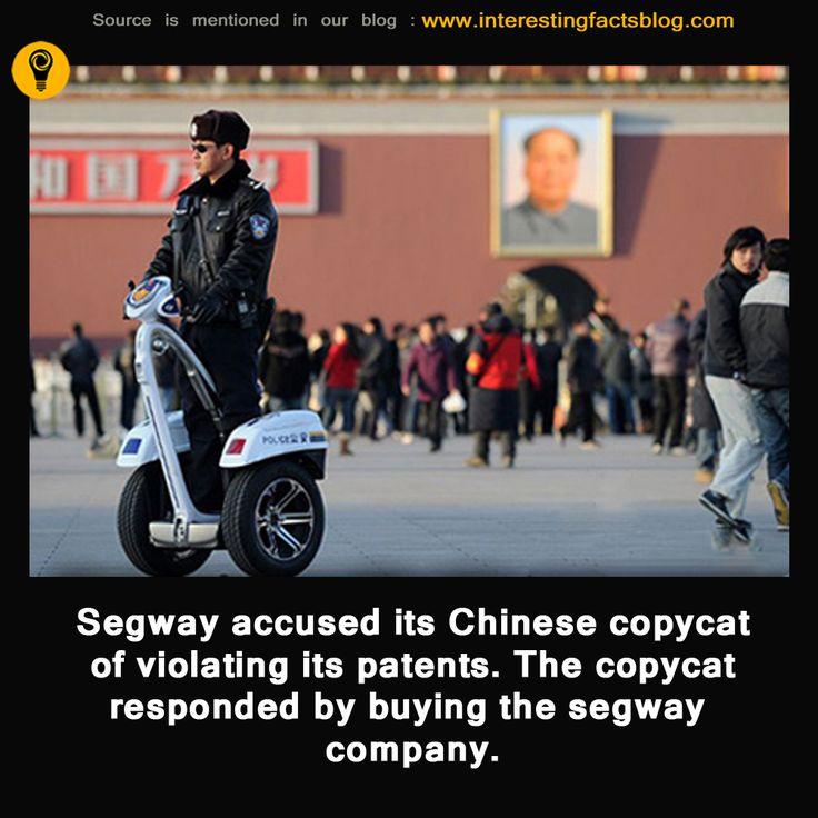 Chinese Segway Copycat Company Buys Segway