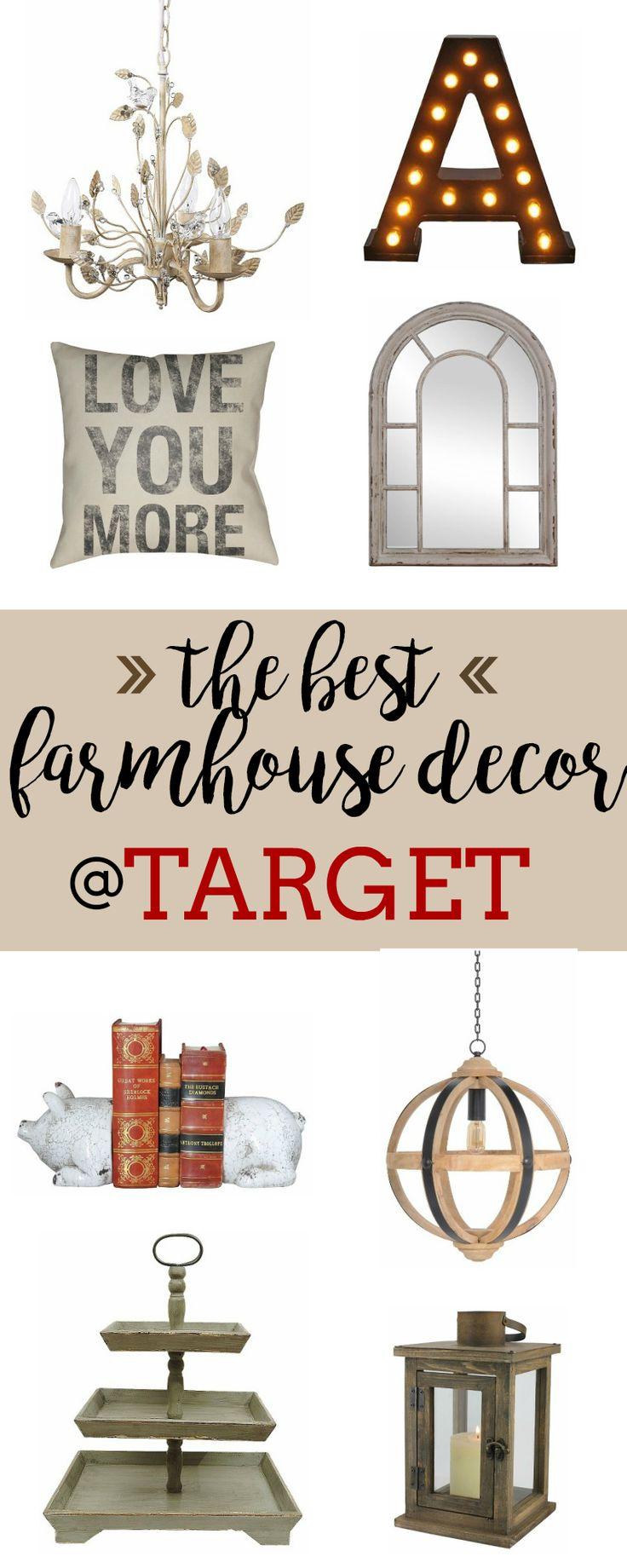 The Best Farmhouse Decor at Target