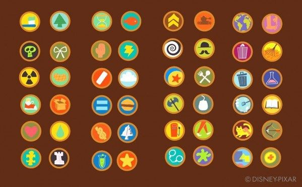 Up Icons And Badges Badge Design Boy Scout Badges