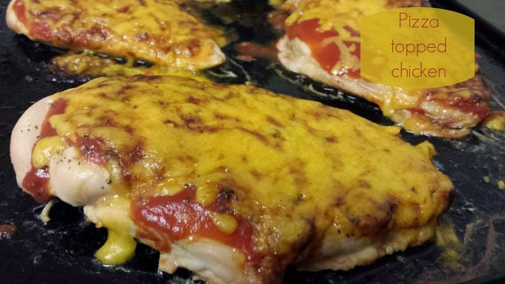 Pizza topped chicken | Nobody Said It Was Easy | Slimming World friendly