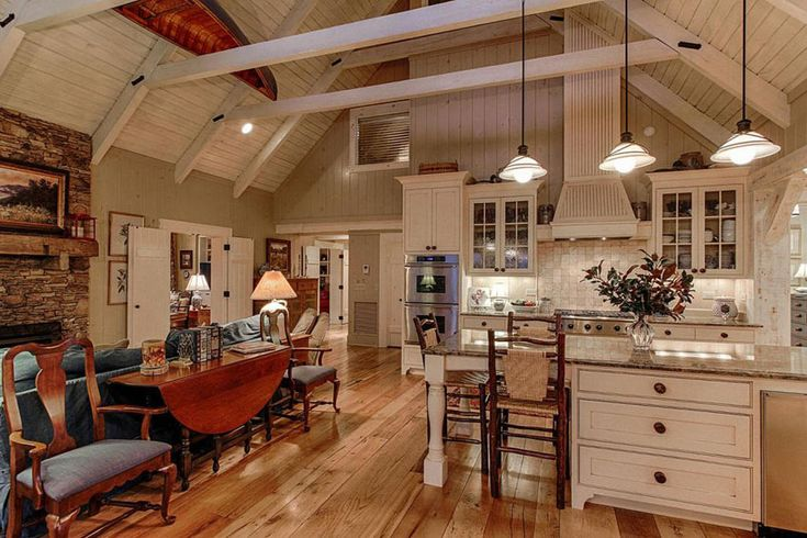 25 best ideas about cathedral ceilings on pinterest for Cathedral style kitchen cabinets