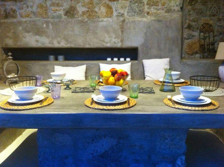 Villa Cyclamen.  Outdoor dining