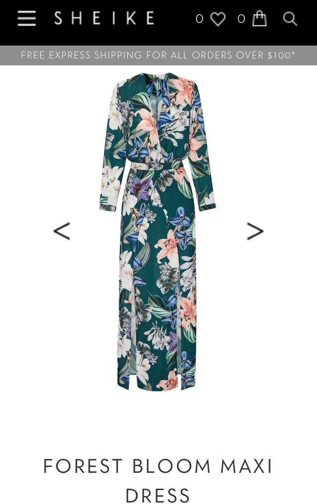 Sheike 'Forest Blooms' Maxi