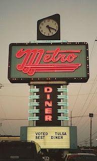 Metro Diner - nick dunlap