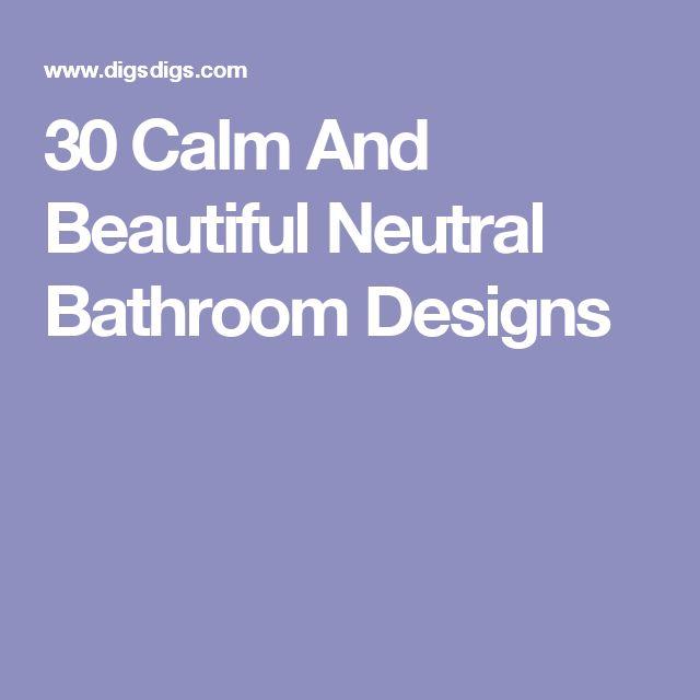 Bedroom Door Bunnings Bedrooms For Girls Blue Ocean Blue Bedroom Blue Master Bedroom Decor: 1000+ Ideas About Neutral Bathrooms Designs On Pinterest