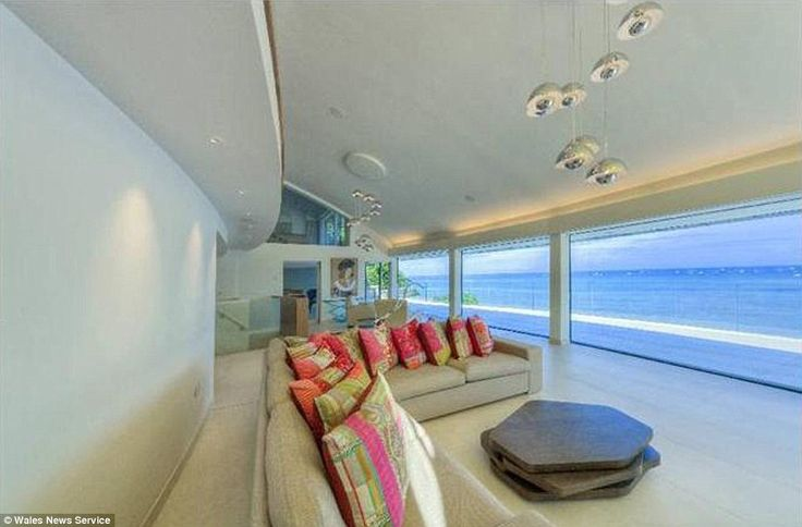A magnificent Caribbean-style beach villa at Abersoch on the North Wales coast
