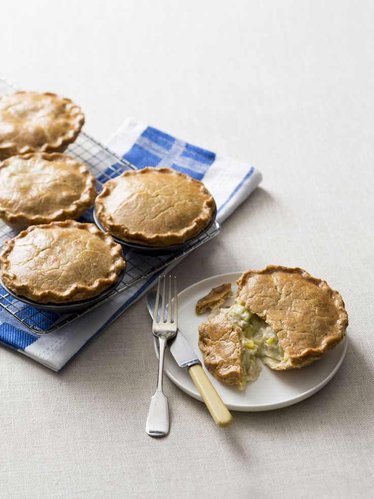 Chicken and leek pies | Thermomix | Good food, gluten free
