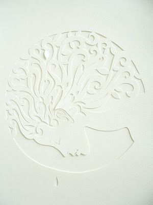#papercut #juliehaysom  the earth is crying
